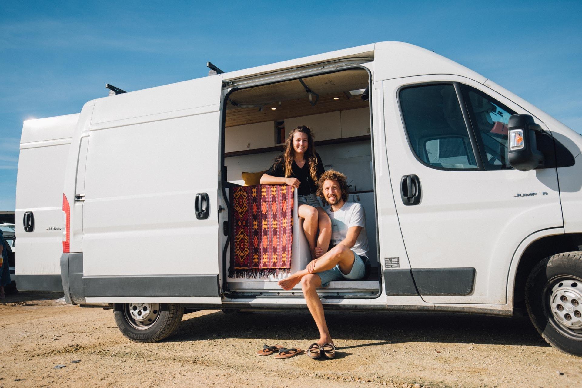 Arbeiten und Leben im Camper