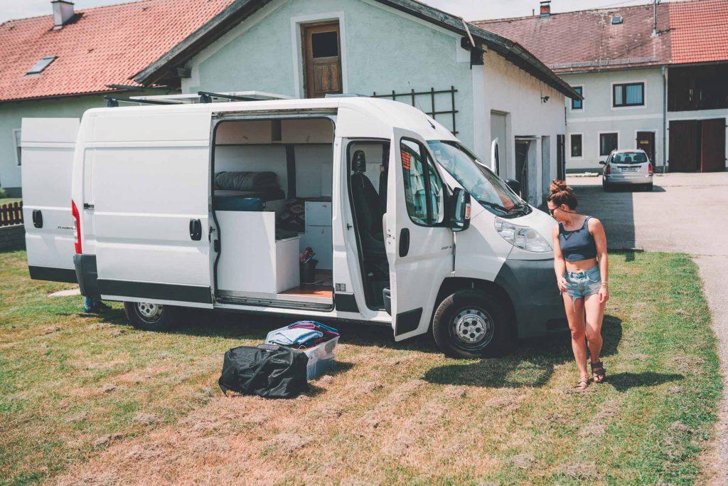 Camper privat über paulcamper vermieten Citroen Jumper L2H2