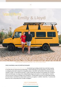 Vanlife EBOOK Salty roamers Europa Roadrip Camper