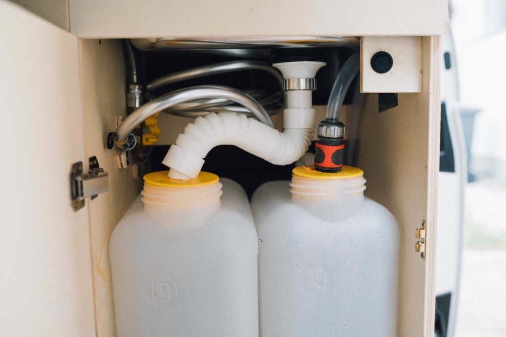 Wassersystem VW T5 Campera