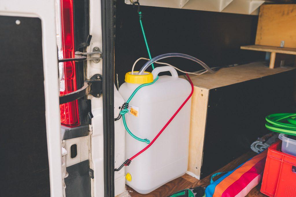 Wasserversorung im Wohnmobil Camper