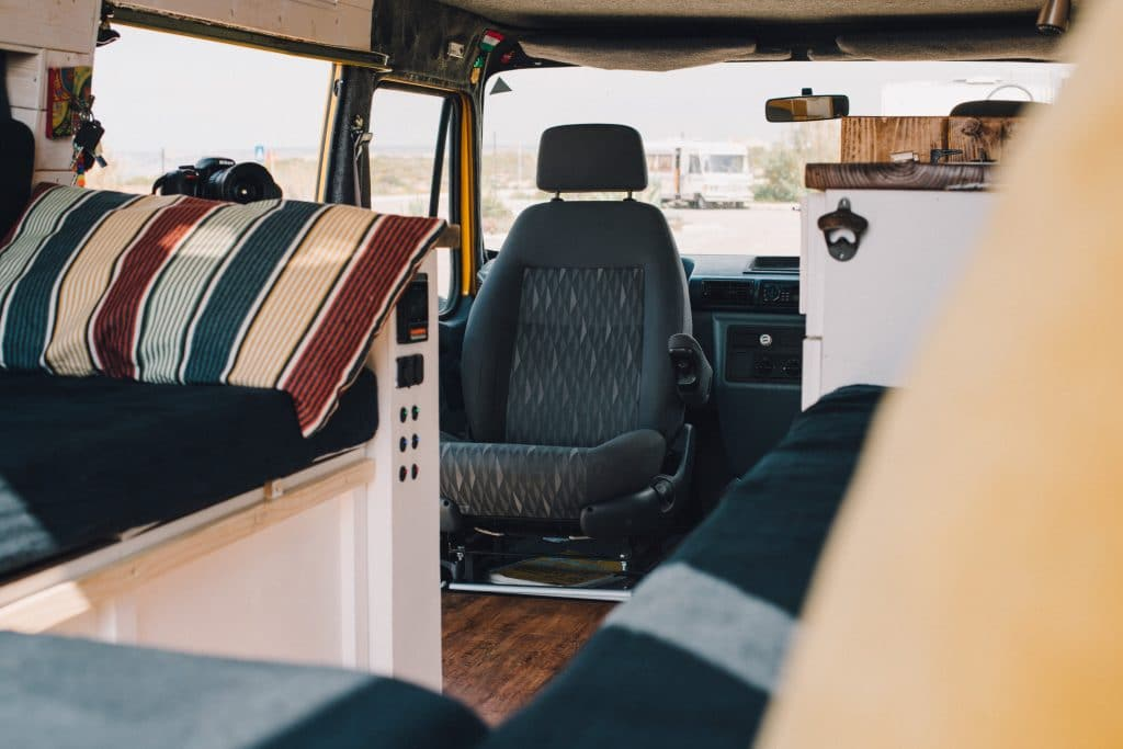 Camper Interview Vanlife LTD Convoy minibus drehstuhl