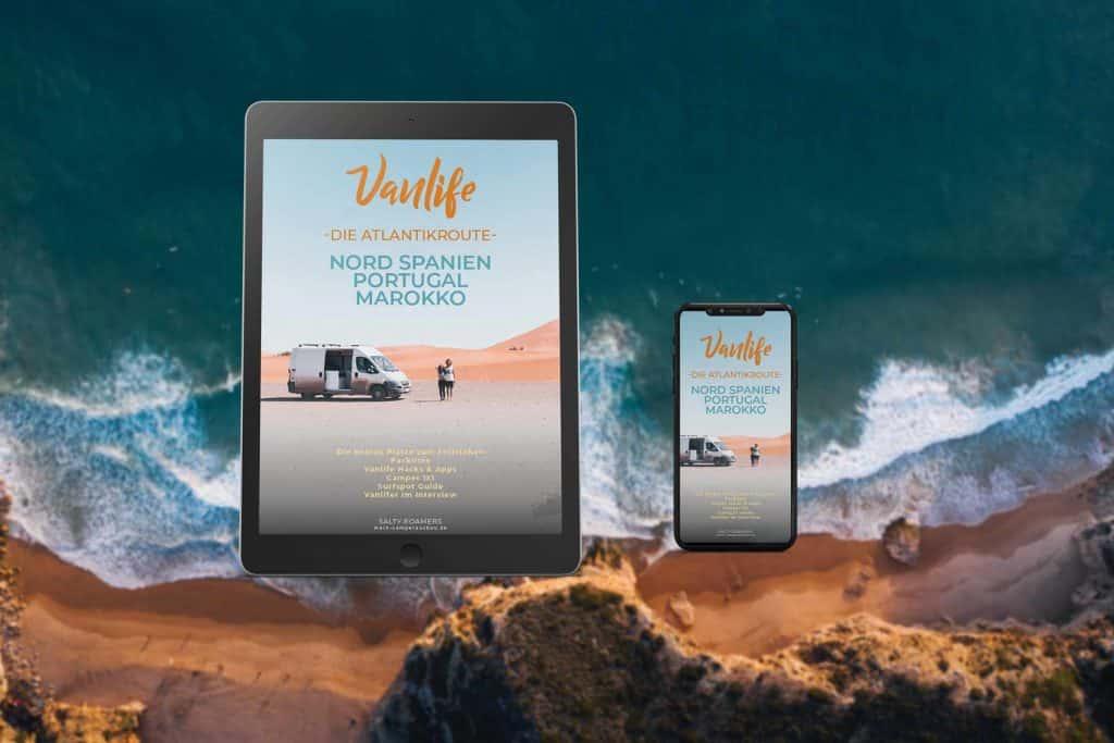 Vanlife-Ebook---Travelguide-Reiseführer-Marokko-Spanien-Portugal-Camping-Camper