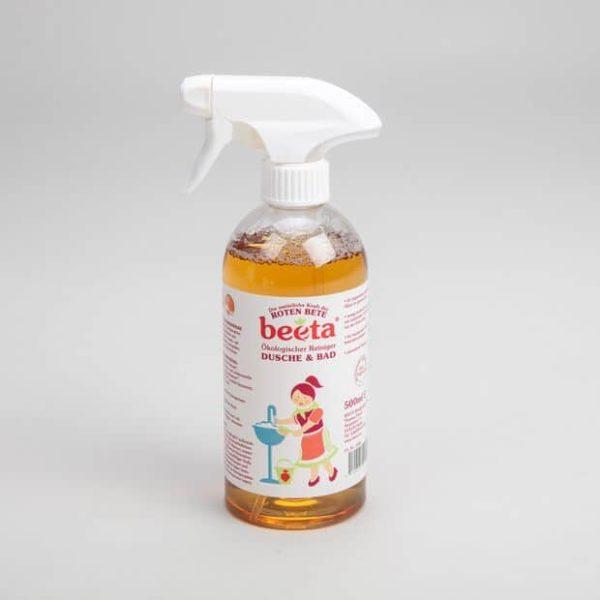 beeta Rote Beete Reiniger für Dusche & Bad 0,5 Liter