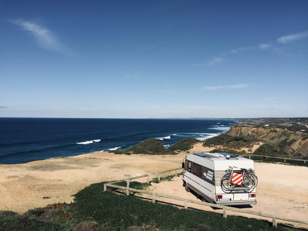 Recyclen, Upcyclen, Müll vermeiden - Hymer Vanlife Portugal Vollzeit Camper Meer Ausblick