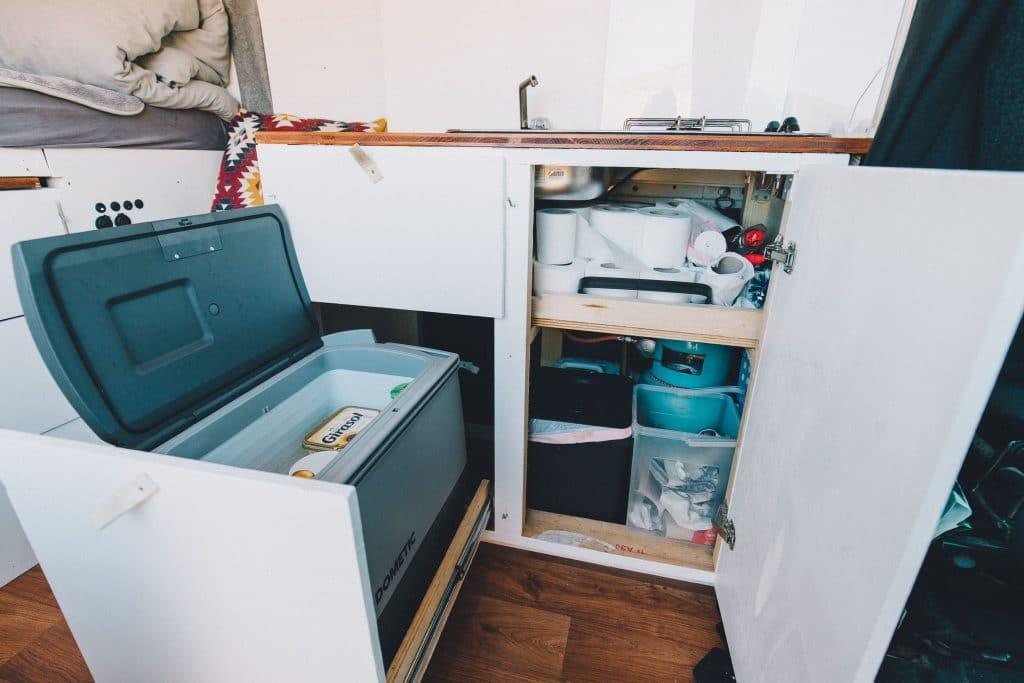 sparsamer kompressor kühlschrank kühlbox camper und wohnmobil