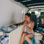 Schrank im Bus selbst bauen VW T5