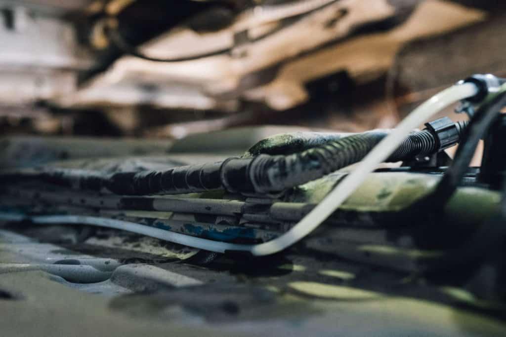 Kraftstoffleitung VW T5 für standheizung