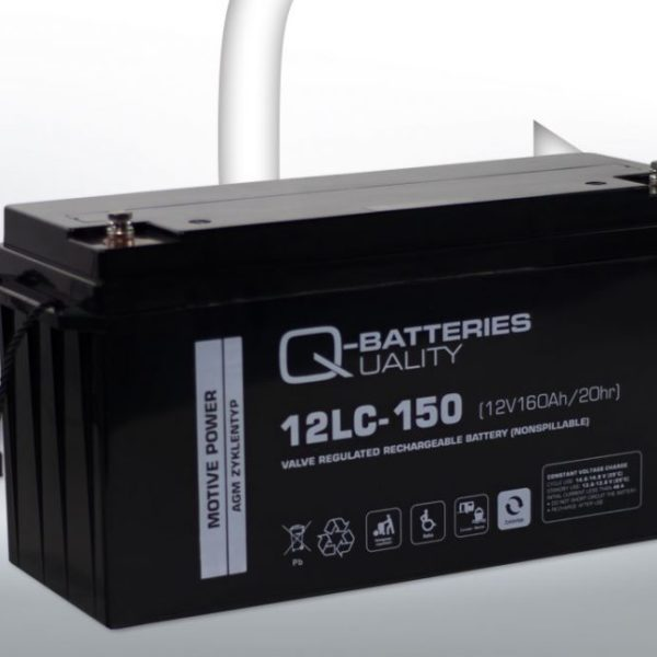 AGM Versorgungsbatterie Deep Cycle 160Ah