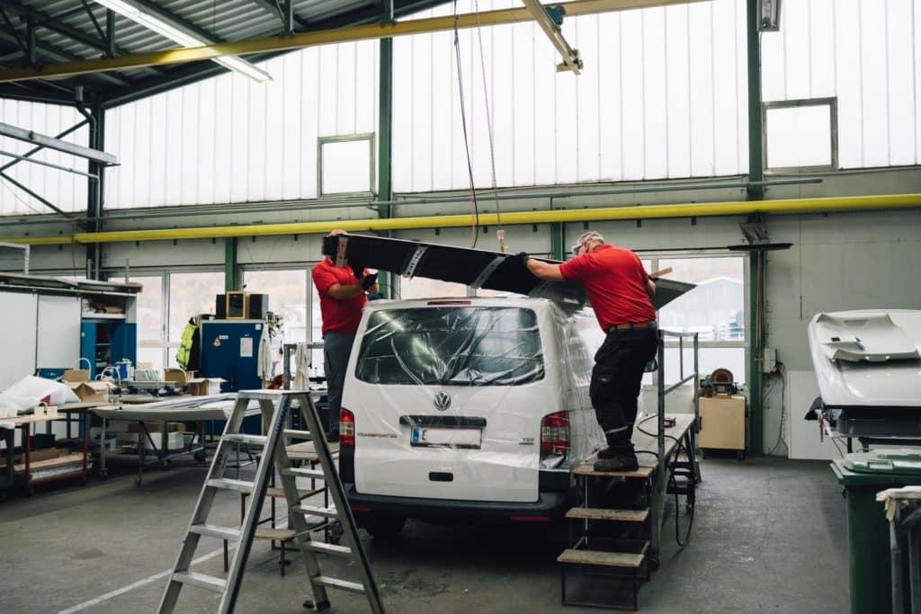 SCA Aufstelldach VW T5 Camper einbau