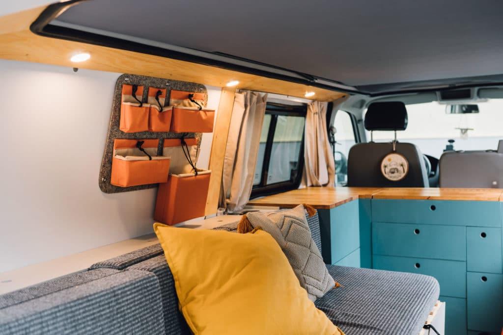Aufbewahrungssystem VW Bus Van Tale RYGG