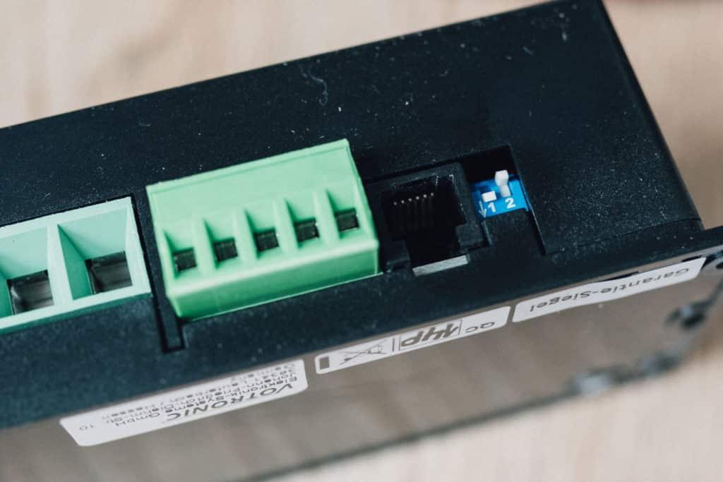 Schalterstellung Votronic Ladebooster