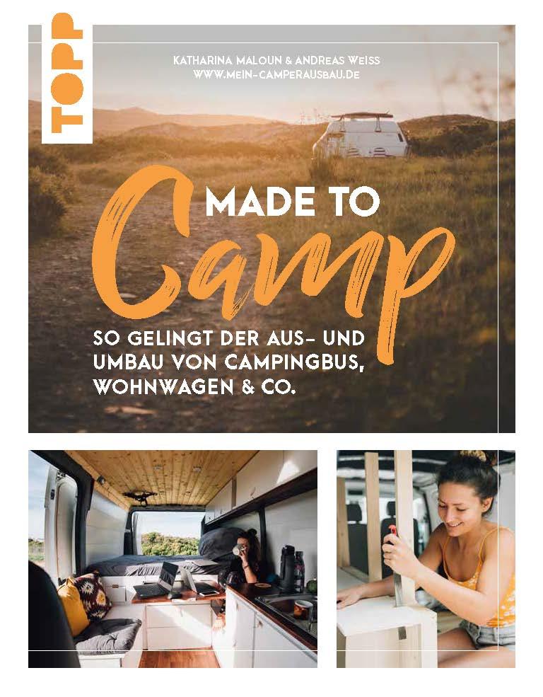 Camper Ausbau Buch Wohnmobil DIY Bus