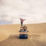 Körmi und ihr Minivan Piaggio Porter: Happiness is Homemade