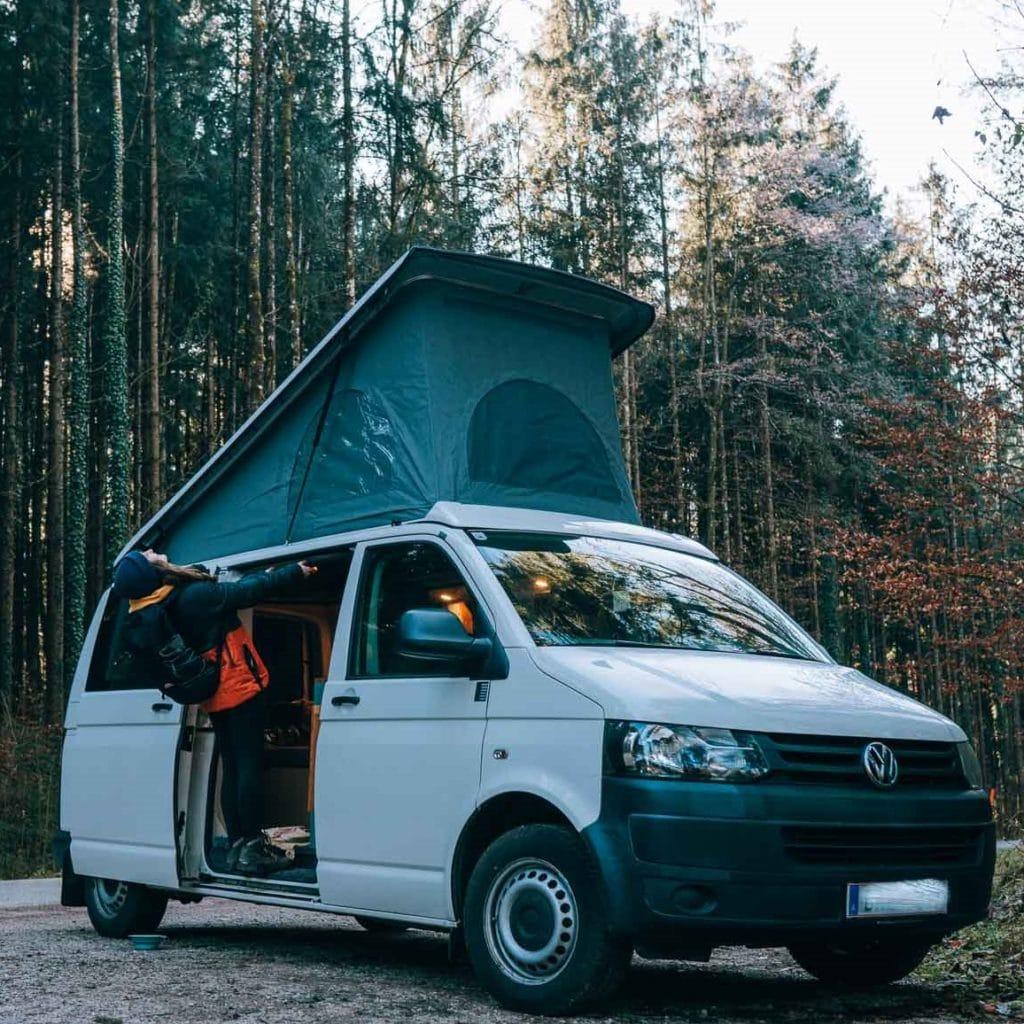 VW T5 Bus Vanlife Aufstelldach