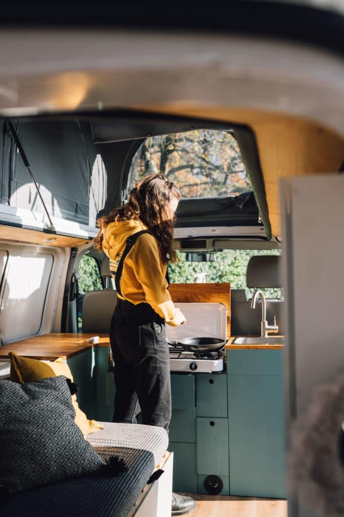 VW T5 Camper Bulli selbst Ausbau