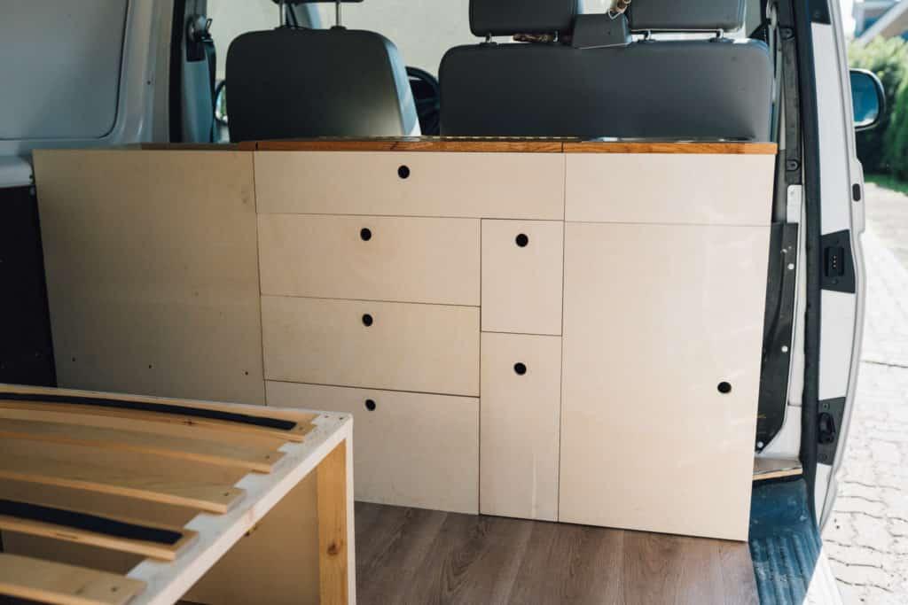 Camper Küche VW T5 Bauanleitung