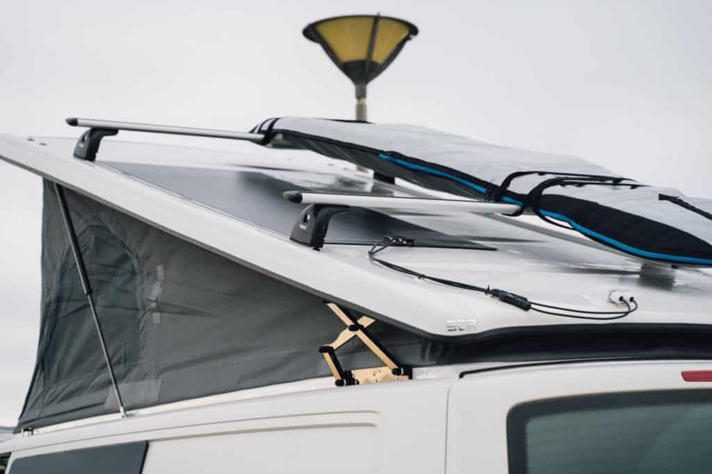 SCA Aufstelldach Dachträger Solar