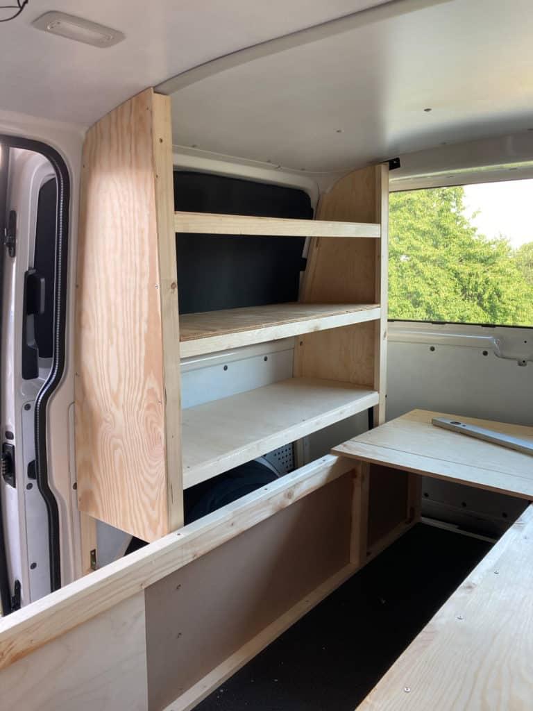 Van Ausbau DIY VW T6 Bulli Minivan