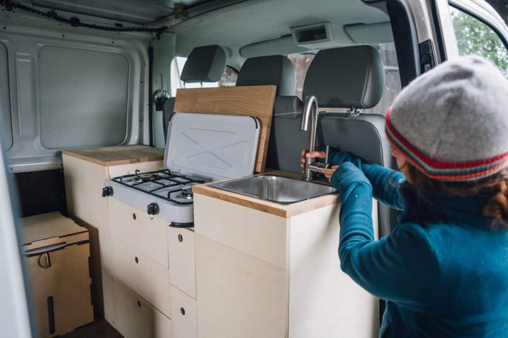 VW T5 Küche selber bauen