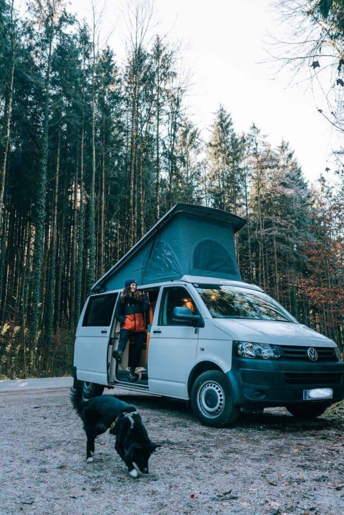VW T5 Camper outdoor