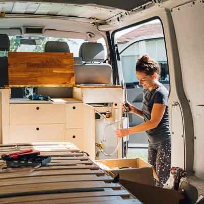 VW T5 Camper selbstausbau