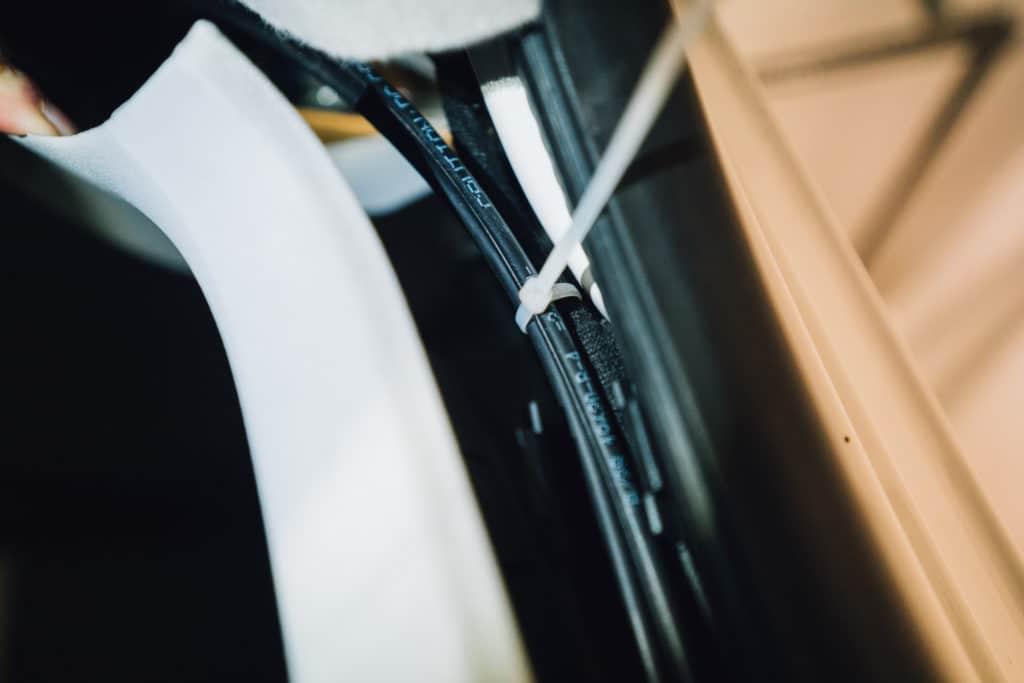 VW T5 Solar Kabel verlegen
