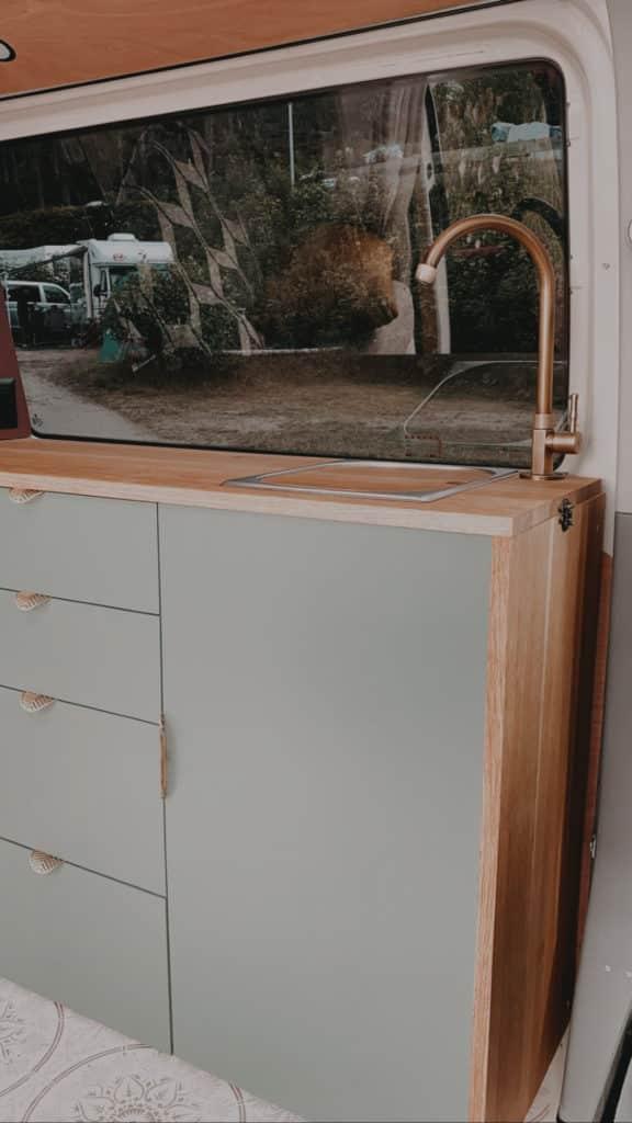VW T5 Camper Küche mobiler multifunktionaler Tisch